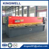 Máquina de corte hidráulica do CNC para a placa de aço e inoxidável