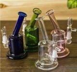 Unbesonnenes Glasrecycler-Wasser-Pfeife des Goode Glas-2016new mit guter Funktion des schwarzen Arm-4 für Rauch