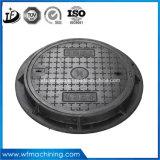 EN124 A15 B125 C250 D400 Fundição Ferro Forjado Duplo articulada Selado Rodada de drenagem / esgoto Manhole Cover