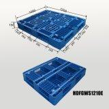Palette en plastique lourde de HDPE pour la mémoire d'entrepôt