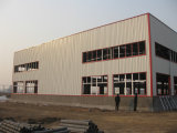Light pré-fabricado Steel Frame para Industrial Facility