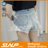Women Clothes Embroidery Fashion Denim Short Pant