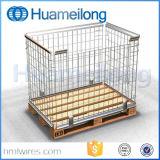 Lager-Schweißen, das Stahlladeplatten-Rahmen stapelt