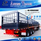Aanhangwagen van de Vrachtwagen van het Vervoer van de Lading van het Type van Staaf van het pakhuis de Semi (LAT9340CLXY)