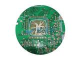 Placa de circuito impresso frente e verso do dedo do ouro de HASL
