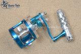 高品質CNCのアルミニウム海釣の釣る巻き枠
