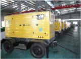 125kVA Soundproof Enclosed Cummins Powered Genset with CE Approval