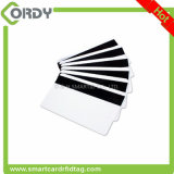 Impressão offset RFID Hico ou loco Blank Smart Magnetic Stripe Smart Card