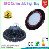 Luz de fundición a presión a troquel 100W IP65 de la bahía del UFO de la cubierta alta 5 años de garantía