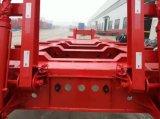 3개의 차축 Fuwa 상표 13t의 트레일러 부속을%s 가진 낮은 반 침대 트럭 트레일러