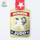 Jiabo 공급 싼 선전용 선물 아연 합금 주물 메달이 주문 사기질 큰 메달 금속에 의하여
