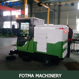 Máquina de quatro rodas da limpeza do assoalho da bateria