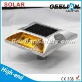 indicatori luminosi solari della vite prigioniera della strada di 75mm LED con controllo di luce solare