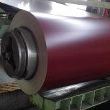Il colore di PPGI 0.42mm ha ricoperto il verde blu rosso galvanizzato della bobina d'acciaio
