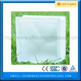 190 * 190 * 85 mm Borrar bloques de vidrio Proveedor