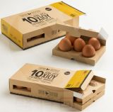 クラフトの安い卵の包装ボックス