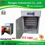 Retenir l'incubateur automatique d'oeufs de poulet de volaille de 352 Digitals d'oeufs à vendre