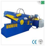 Máquina de estaca hidráulica da chapa de aço do crocodilo
