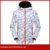 Customized Good Quality Fashion Softshell Jacket Fabricante para Winter (J201)