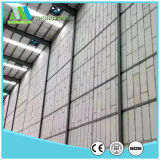 Erweitertes Polystyren, das frei Trennwand-Panel steht