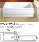 Bañera estándar del delantal de América de la bañera de Cupc (WTM-2803)