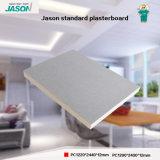 Gipsplaat de Van uitstekende kwaliteit van Jason voor Bouw materieel-12mm