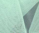% del poliestere di /100 del tessuto netto della zanzara di maglia del tessuto di colori esagonali di /Many in azione