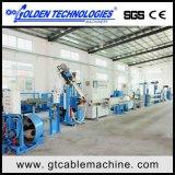 Máquina plástica da extrusora do cabo e do fio