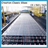 """vetro """"float"""" ultra chiaro di 15mm (vetro della costruzione)"""
