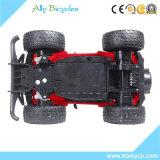 Carros elétricos rápidos plásticos de controle remoto de alta velocidade das rodas grandes R/C