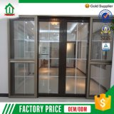 Screen Design를 가진 실내 UPVC Sliding Doors