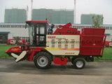 Maquinaria da colheita da liga do milho de quatro fileiras para a orelha de milho