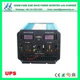 Inversor puro da onda de seno de Queenswing 3000W com carregador do UPS (QW-P3000UPS)