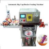 Máquina plástica automática del lacre de la taza/máquina del sellador de la taza