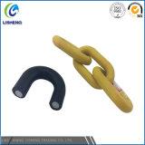 Cadena de acoplamiento de seguridad revestida de plástico