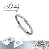 Het Kristal van de Juwelen van het lot van de Briljante Armband van het Tennis van het Kristal Swarovski
