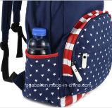 Saco da mochila da lona do curso da escola dos estudantes do colega