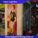 Таможня рекламируя коробку ткани СИД напольную светлую с алюминиевой рамкой