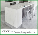 Countertop камня кварца 5111 Statuario Nuvo для кухни