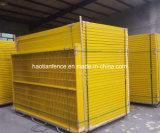標準粉は6FTの低いカートンの鋼鉄カナダの一時塀のパネルに塗った