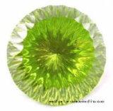 Zirconia cúbico verde para la configuración de la joyería