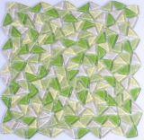 Mattonelle di vetro dell'argento del mosaico