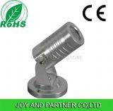lumière de jardin d'horizontal de 3W DEL avec la lumière solaire (JP83512-H)