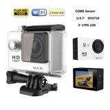 """Câmera 2.0 """" LCD HD cheio 1080P CMOS da ação do preço de fábrica W9 impermeável"""