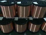 Alumínio revestido de cobre do CCA para o uso video do cabo