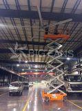ventilador grande de Hvls del área de la cobertura del viento de los 24.3FT del buen funcionamiento los 7.4m grande de la ventilación