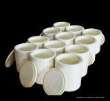 Frascos de moedura do Zirconia Polished do moinho de esfera com o certificado ISO9001