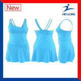 Healongの最新のデザイン特別で完全な昇華テニス服