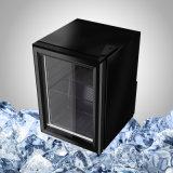 Mini Zwarte Koelkast met de Deur van het Glas