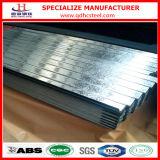 Zolla d'acciaio ondulata della lamiera sottile del tetto del lustrino G60 del metallo normale dello zinco